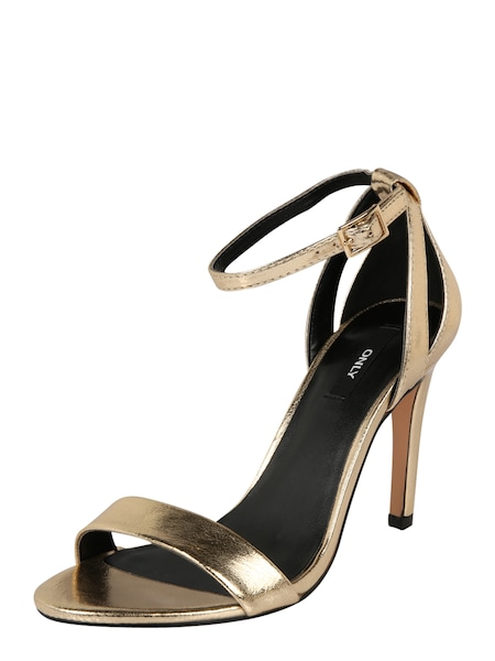 Highheels für Frauen - Sandale 'Aila' › ONLY › gold  - Onlineshop ABOUT YOU