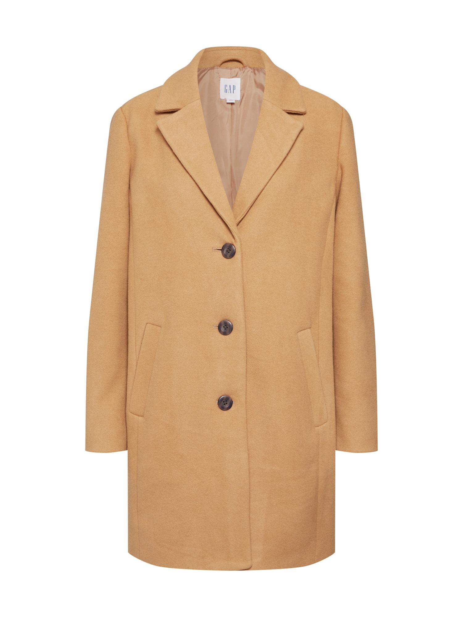 GAP Rudeninis-žieminis paltas 'V-LONG TOP COAT' kupranugario