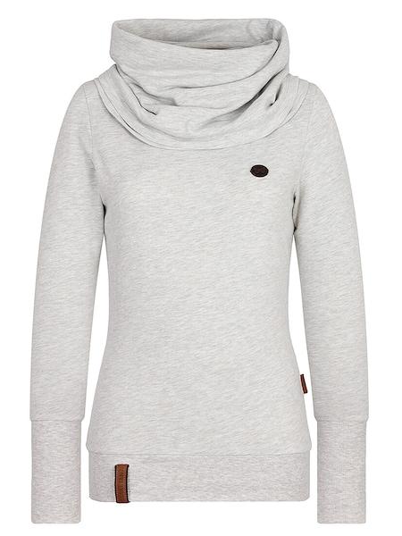 Oberteile für Frauen - Sweatshirt › Naketano › hellgrau  - Onlineshop ABOUT YOU