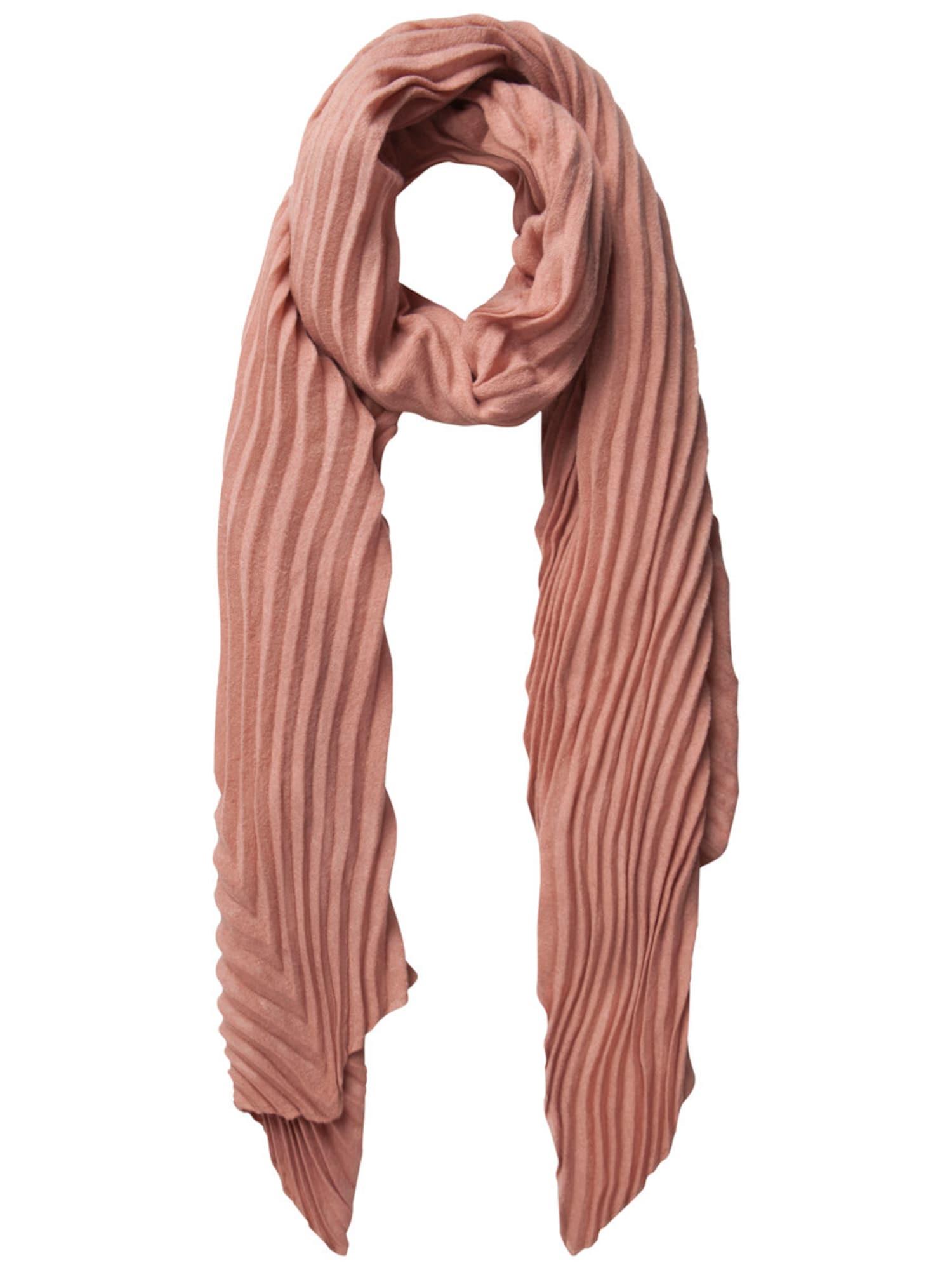 Schals für Frauen - PIECES Schal Langer, plissierter rosé  - Onlineshop ABOUT YOU