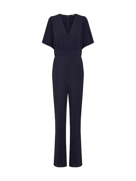 Hosen - Overall 'Flutter Sleeve VNeck Jumpsuit' › DKNY › navy  - Onlineshop ABOUT YOU