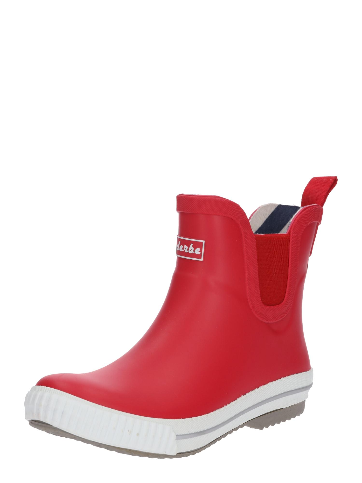 Derbe Guminiai batai 'Wattpuuschen' vyšninė spalva