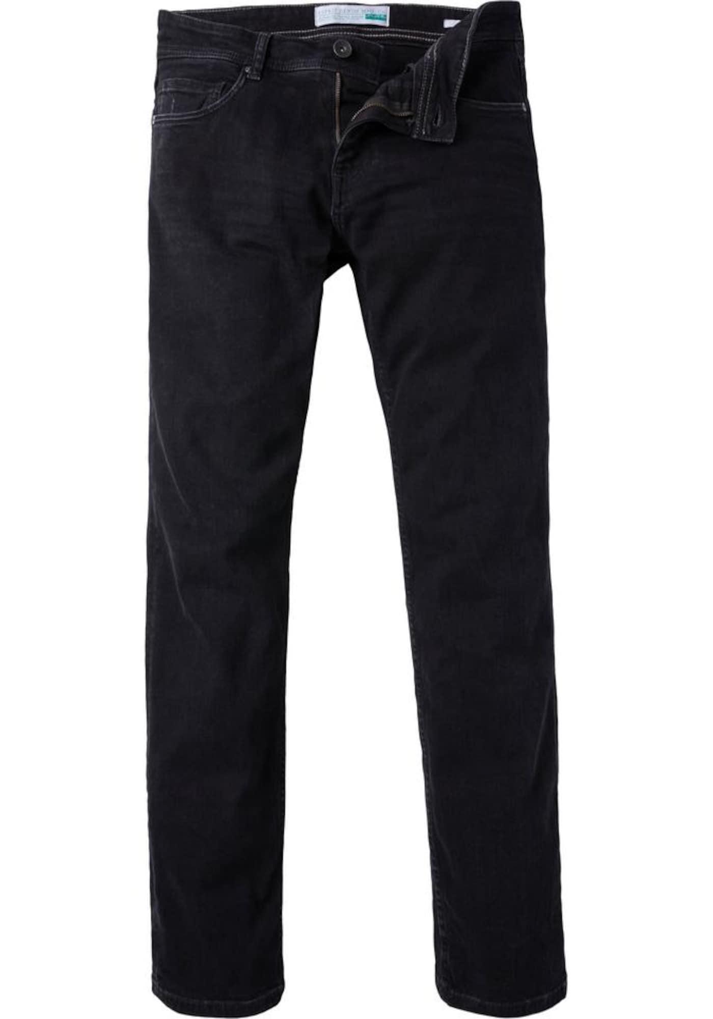 ESPRIT Džinsai juodo džinso spalva