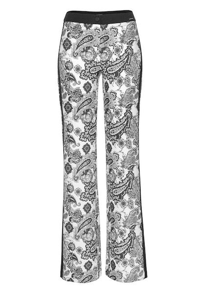 Hosen für Frauen - BRUNO BANANI Palazzohose schwarz weiß  - Onlineshop ABOUT YOU