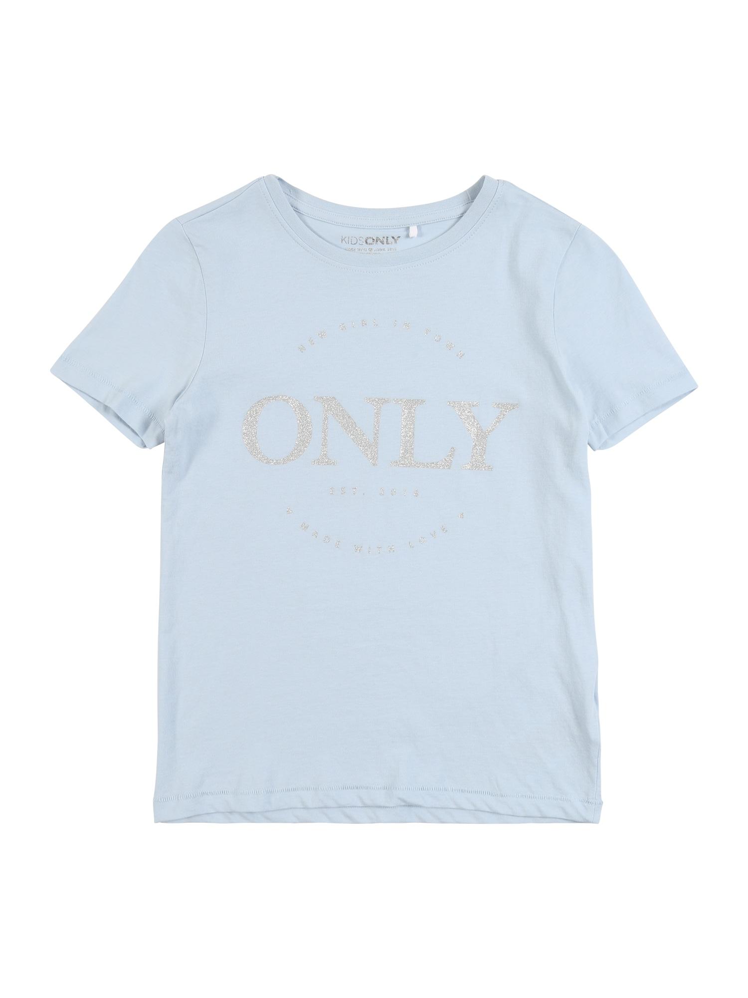 KIDS ONLY Marškinėliai šviesiai mėlyna
