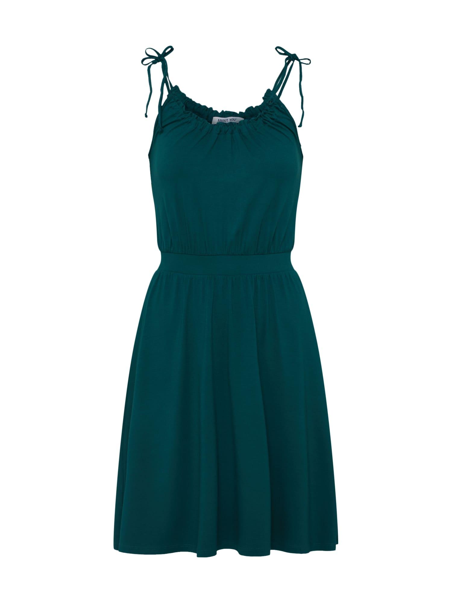 ABOUT YOU Vasarinė suknelė 'Luana' tamsiai žalia