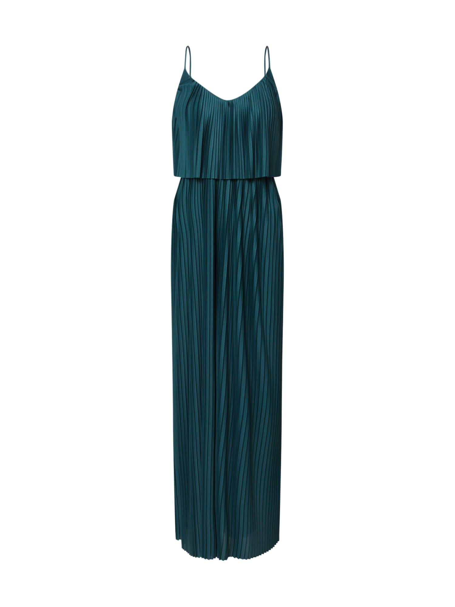 ABOUT YOU Vasarinė suknelė 'Nadia' tamsiai žalia / žalia