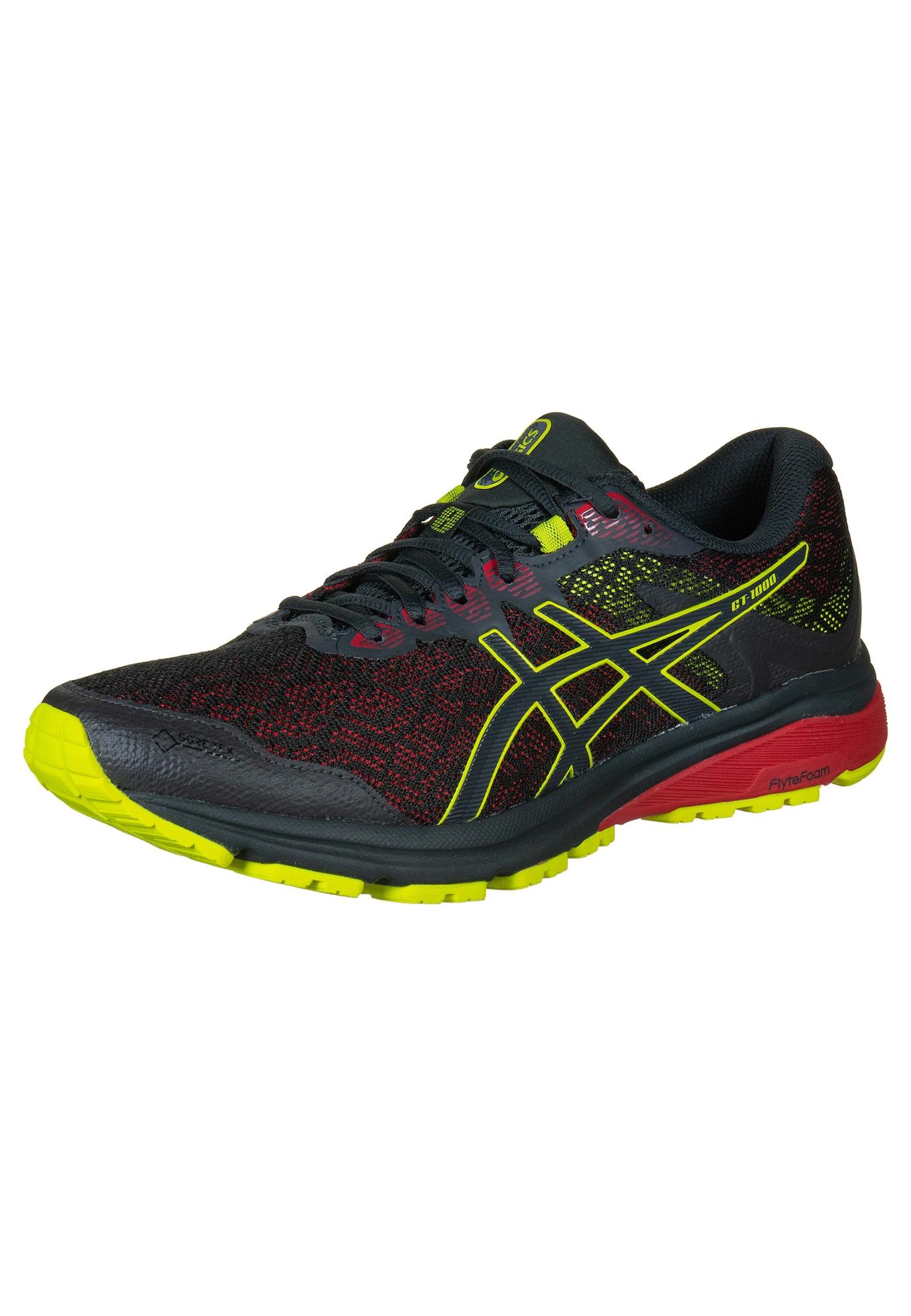 ASICS Bėgimo batai 'GT-1000 8 GT-X' geltona / raudona / juoda