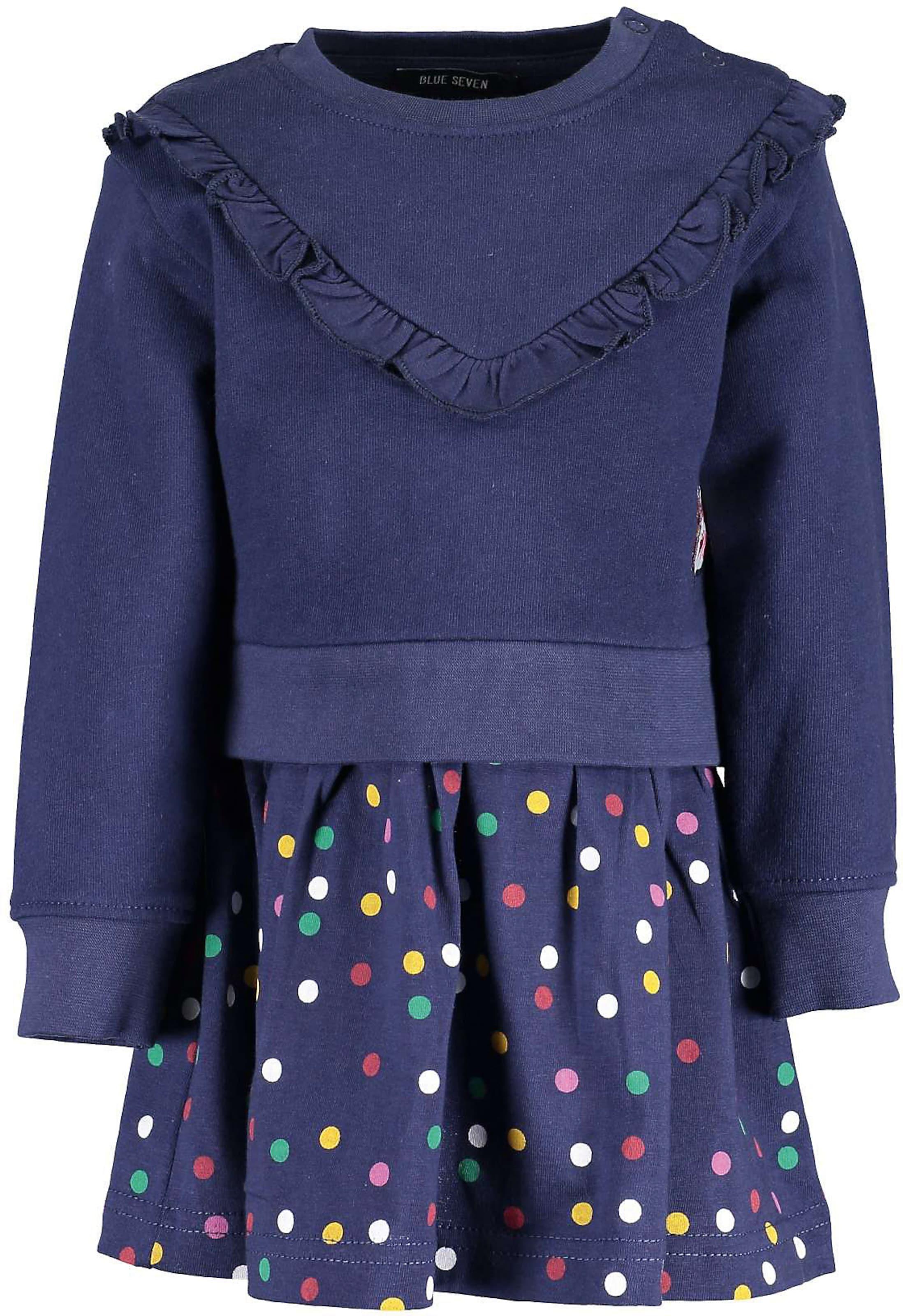Kinder,  Mädchen,  Kinder BLUE SEVEN Sweatkleid blau | 04055852692695