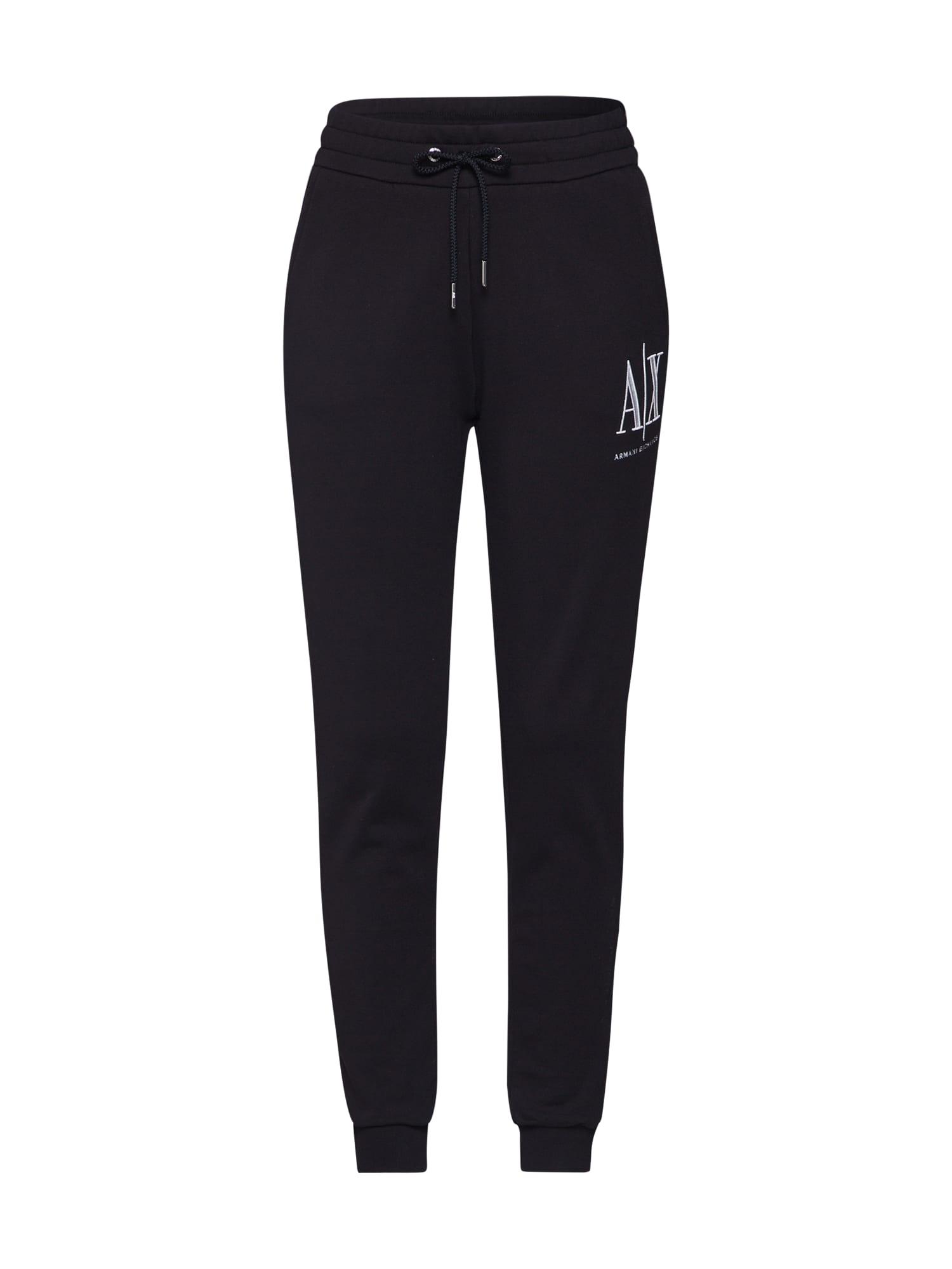 ARMANI EXCHANGE Kalhoty '8NYPCX'  černá