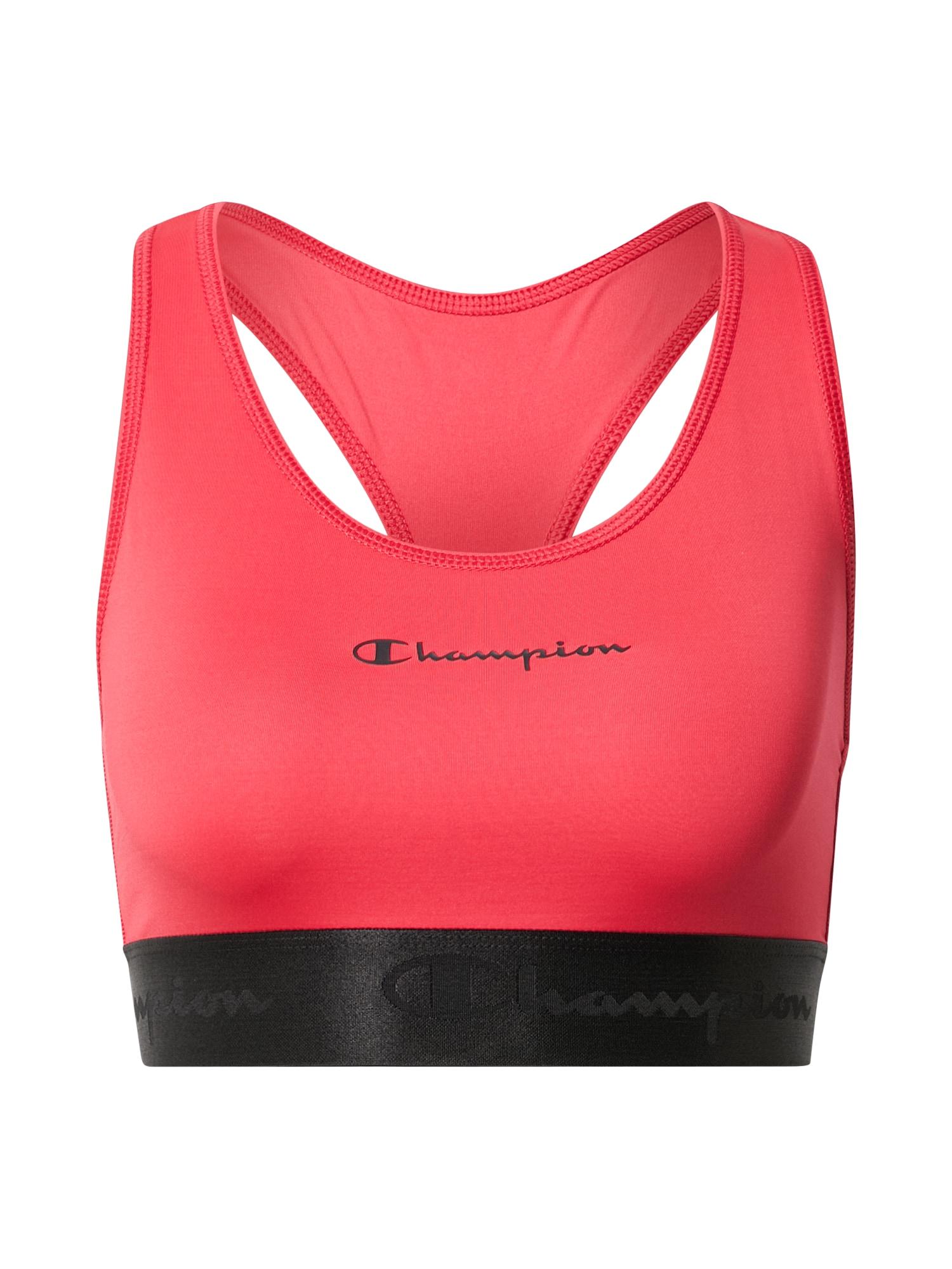 Champion Authentic Athletic Apparel Sportinė liemenėlė rožinė / juoda