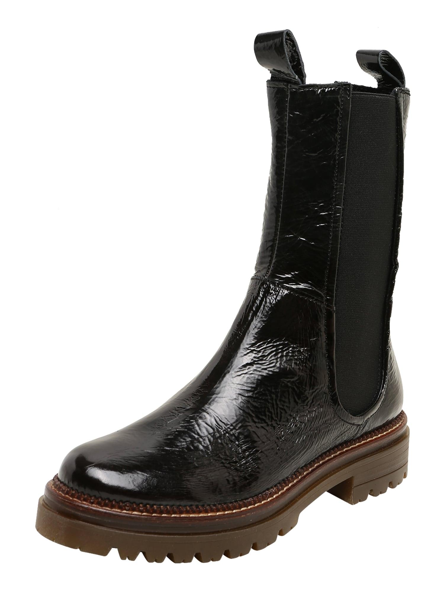 MJUS Auliniai batai su kulniuku 'DOBLEAMBRA' juoda