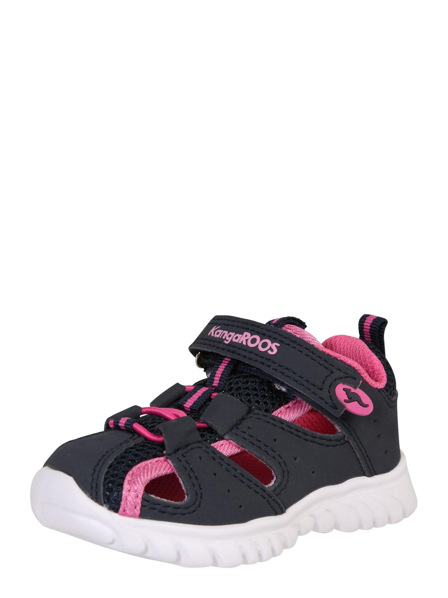 Sandály Rock lite pink černá bílá KangaROOS