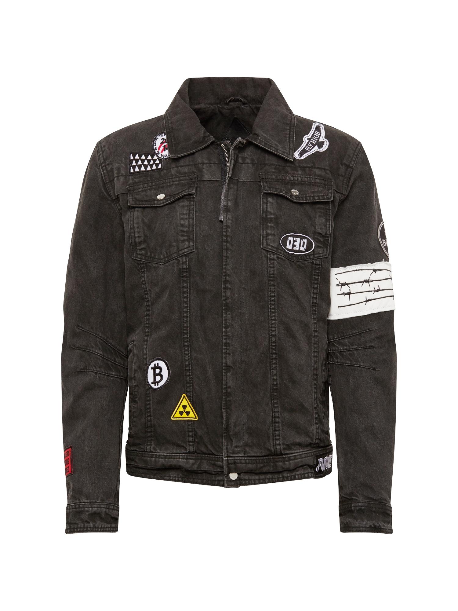 Přechodná bunda BEdusty D černá džínovina BE EDGY