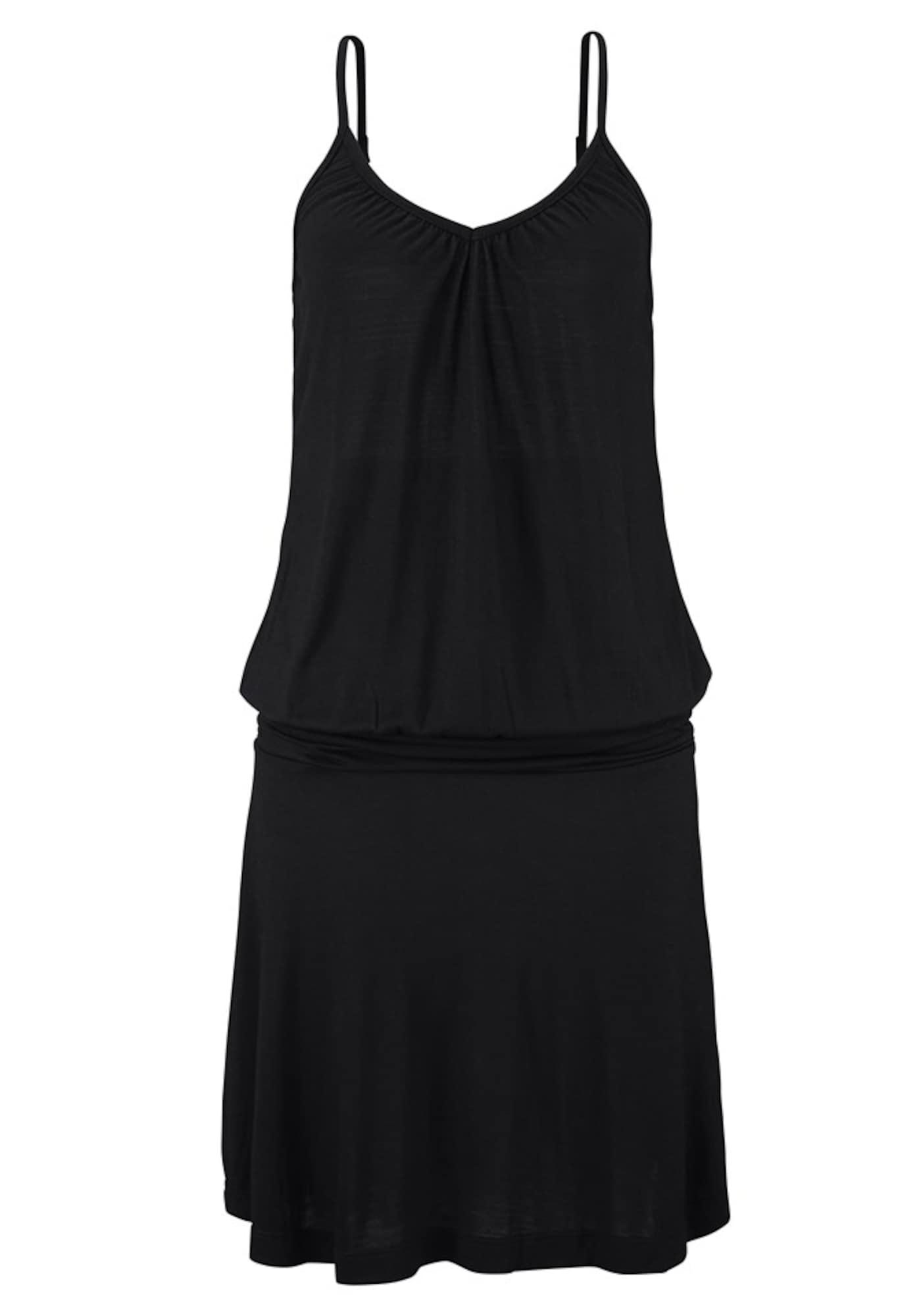 BEACH TIME Paplūdimio suknelė juoda