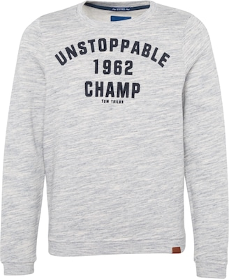 TOM TAILOR Sweatshirt 'unstoppable'