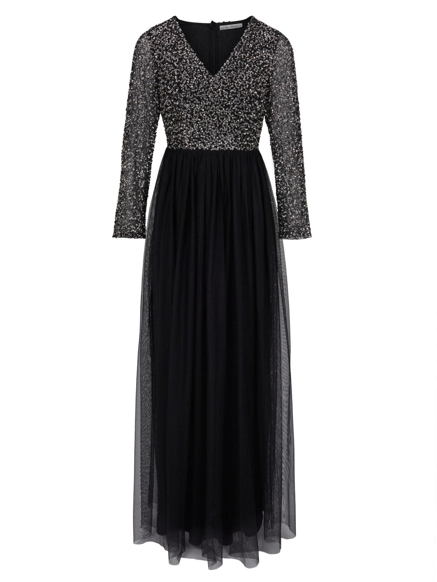 heine Vakarinė suknelė sidabras / juoda