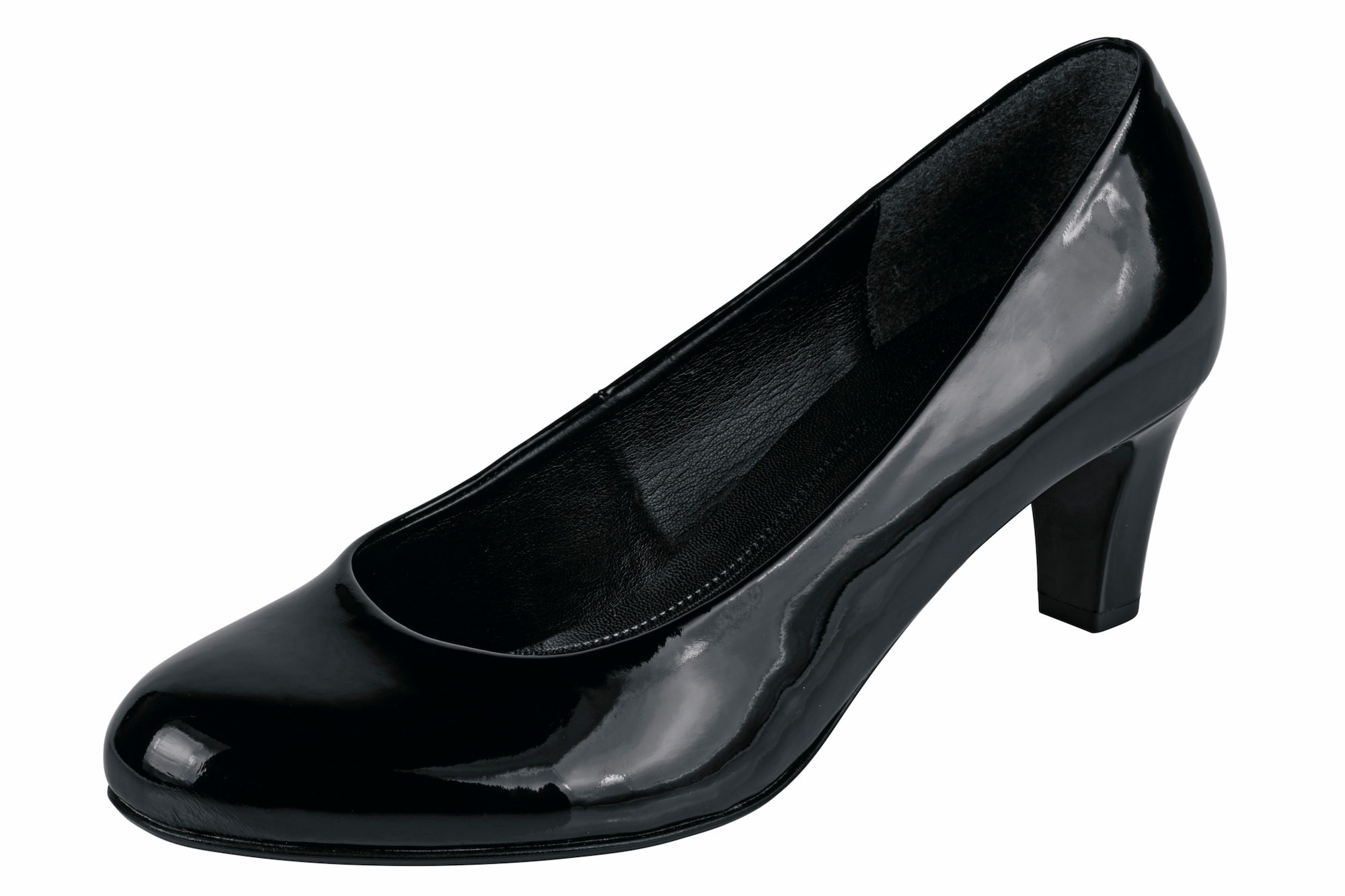 wholesale dealer eb26e 7f80a AboutYou | Damen GABOR GABOR Pumps in Lack-Optik braun ...