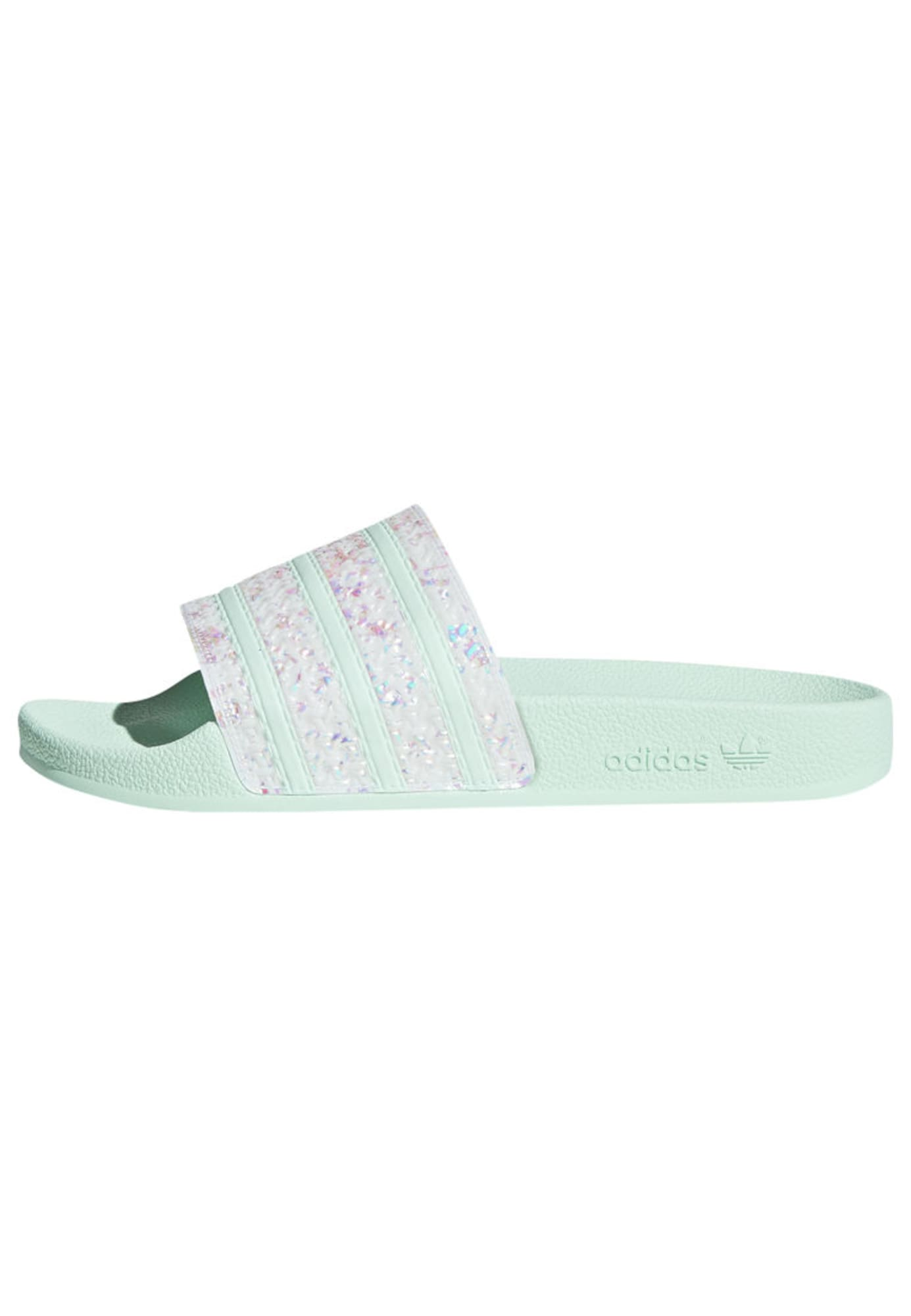 ADIDAS ORIGINALS Pantofle  mátová / bílá