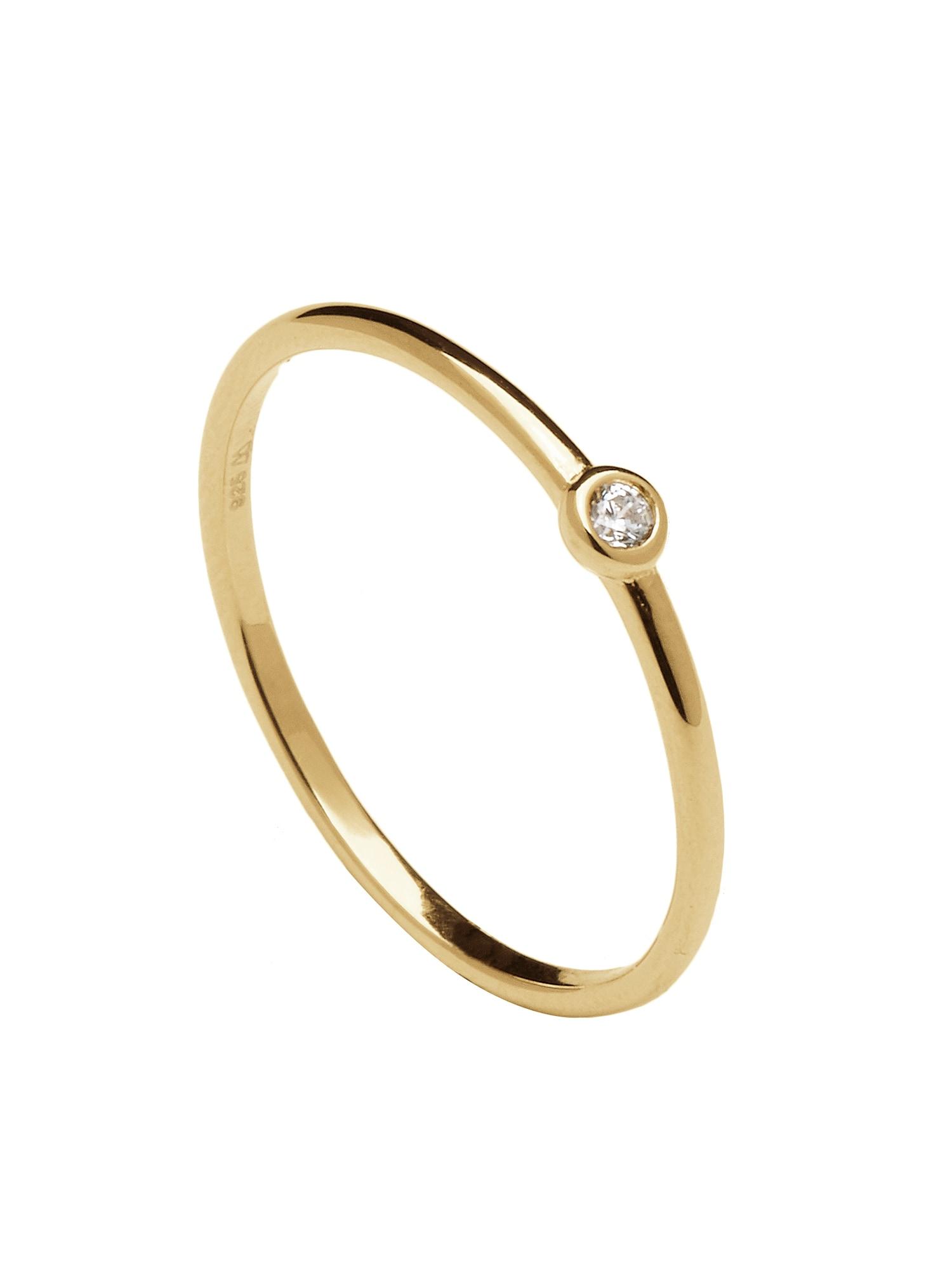 Prsten CLASSIC zlatá P D PAOLA