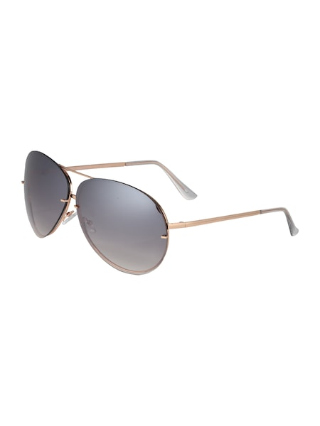 Sonnenbrillen für Frauen - NEW LOOK Sonnenbrille 'RICH TORT' gold grau transparent  - Onlineshop ABOUT YOU