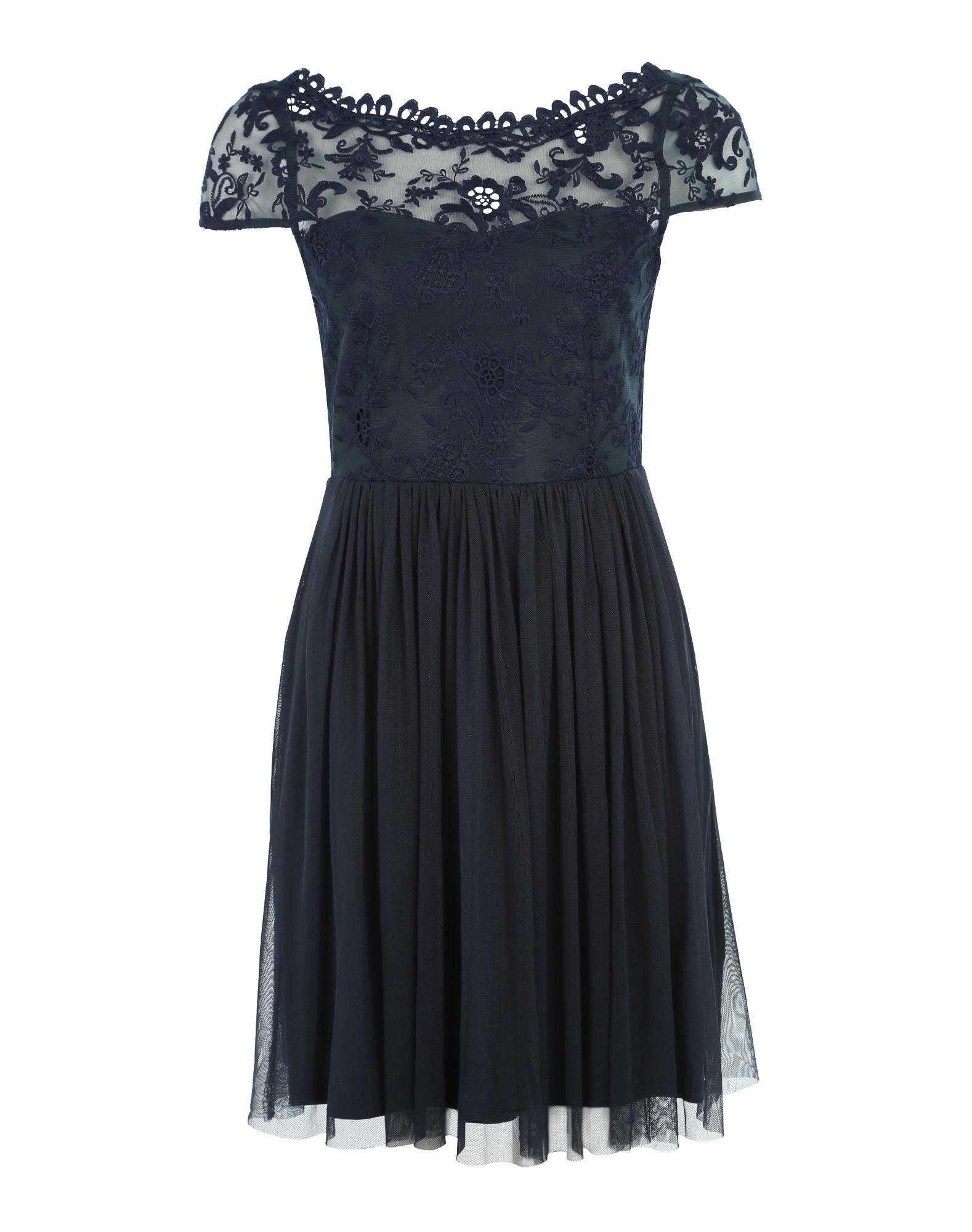 VILA Koktejlové šaty 'ViUlricana'  tmavě modrá