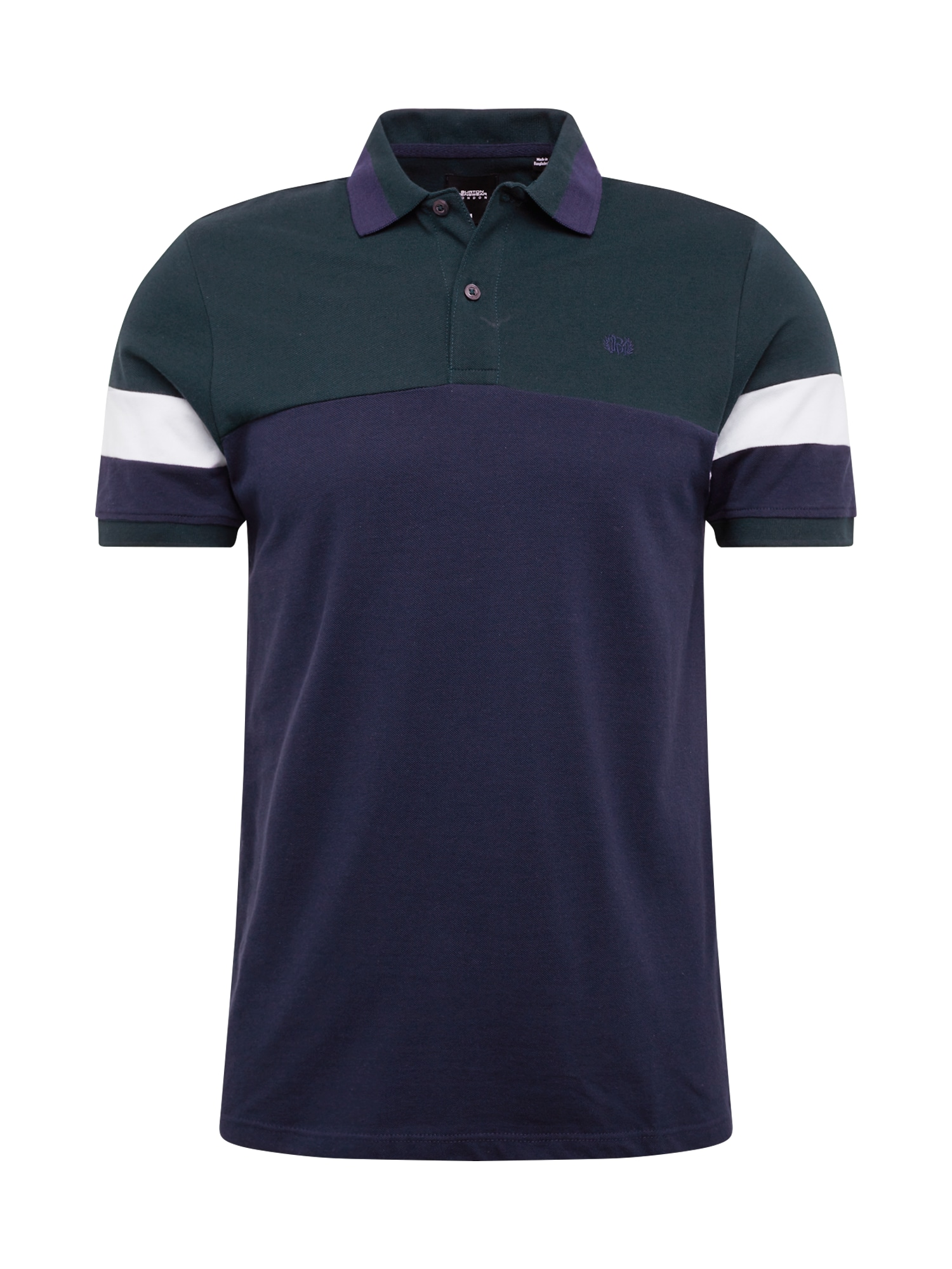 BURTON MENSWEAR LONDON Tricou 'blk polo'  navy