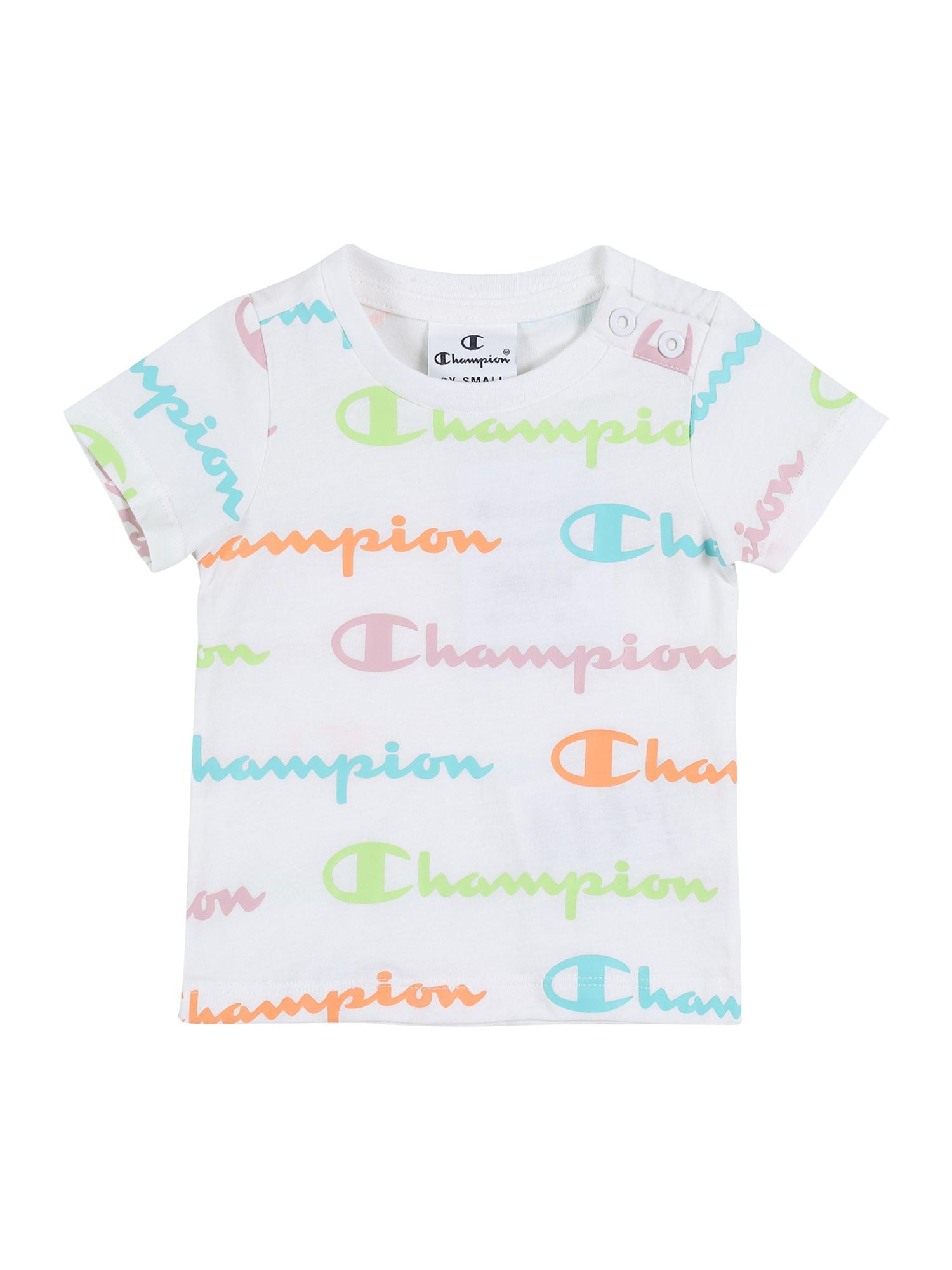 Champion Authentic Athletic Apparel Marškinėliai balta / mišrios spalvos