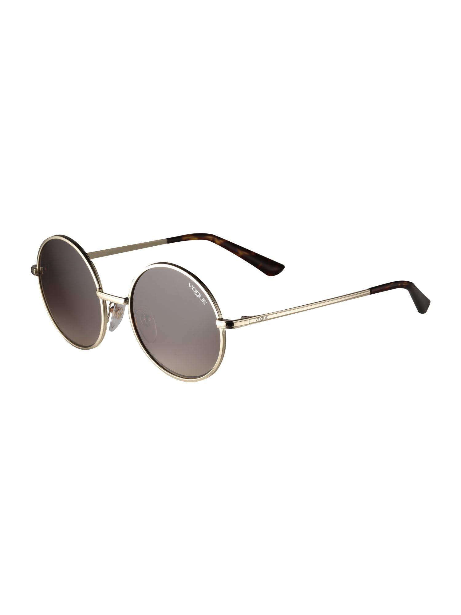 VOGUE Eyewear Akiniai nuo saulės ruda / auksas