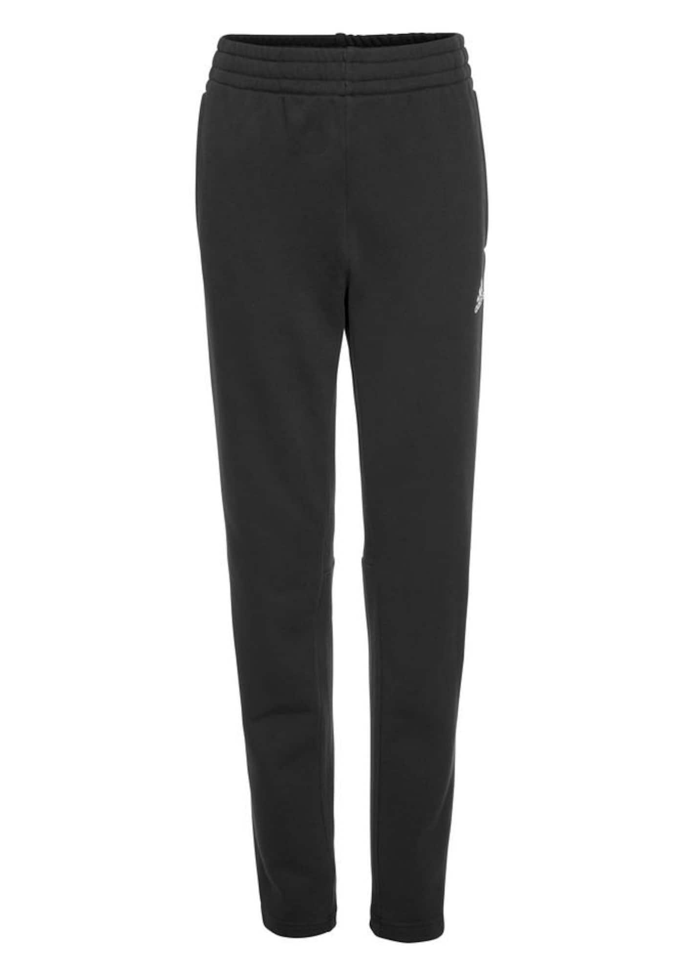 ADIDAS PERFORMANCE Sportinės kelnės 'Must Haves 3 Stripes' balta / juoda
