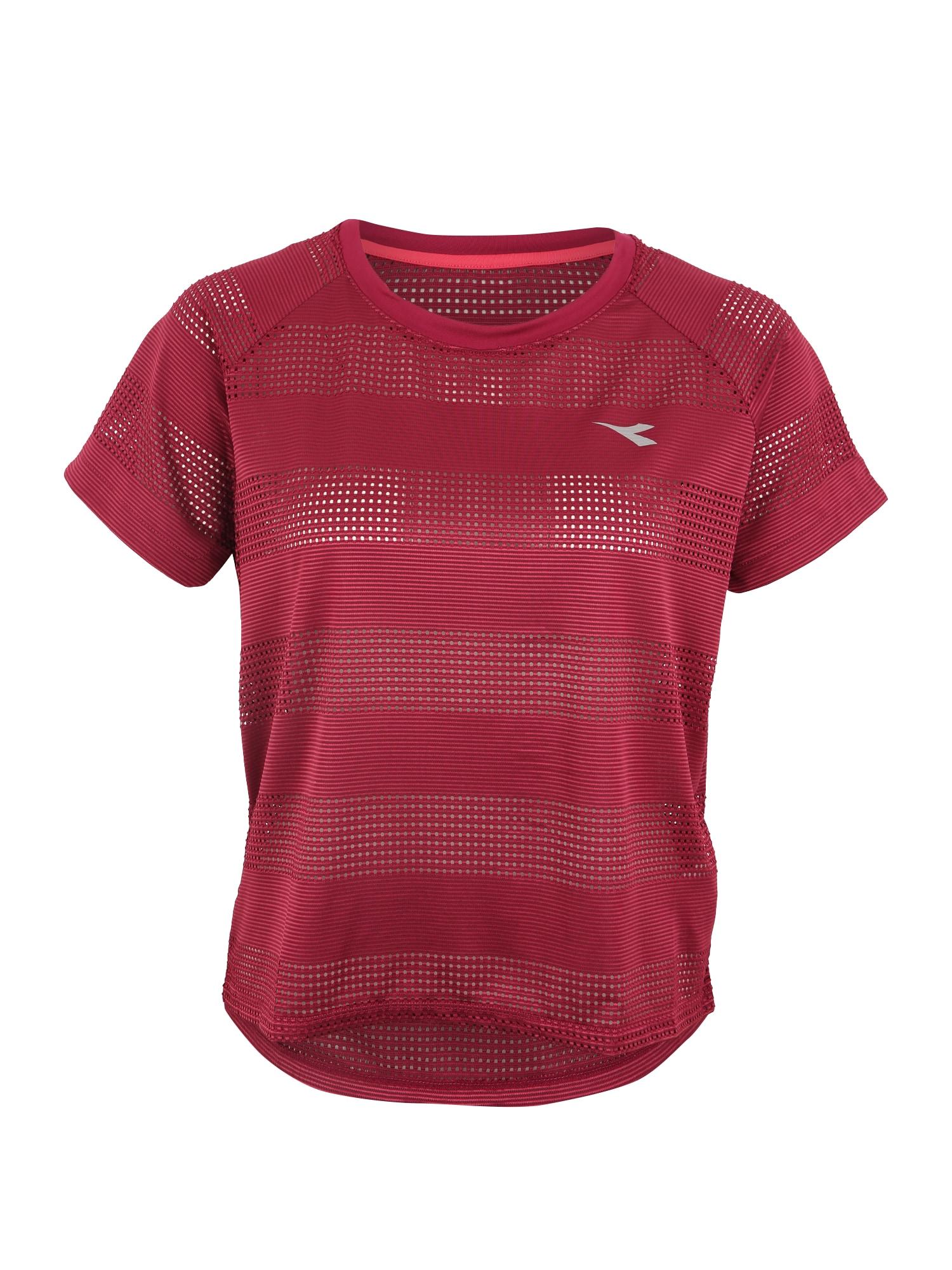 Funkční tričko fialová červená Diadora