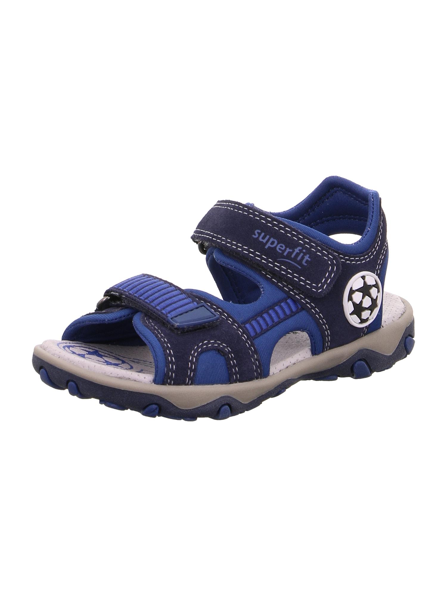 SUPERFIT Atviri batai 'MIKE 3.0' mėlyna / tamsiai mėlyna