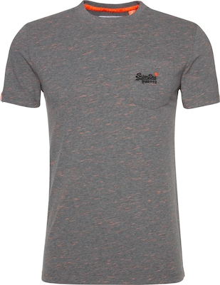 Superdry T-Shirt 'RAIN SLUB POCKET TEE'