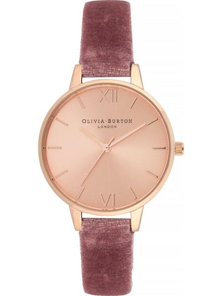 Uhren für Frauen - Olivia Burton Uhr 'Sunray Dial OB16DE03' gold rosé  - Onlineshop ABOUT YOU