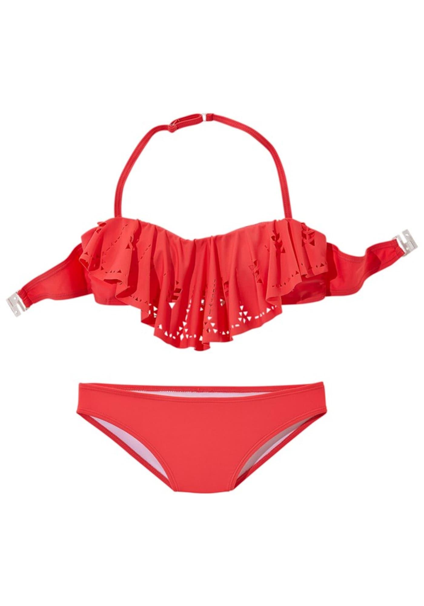 BUFFALO Bikinis raudona