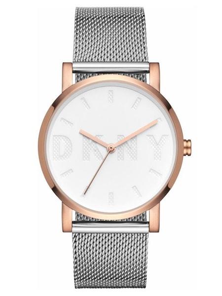 Uhren für Frauen - DKNY Quarzuhr 'SOHO, NY2663' (Set, 2 tlg., mit 1 Wechselband) rosegold silber  - Onlineshop ABOUT YOU