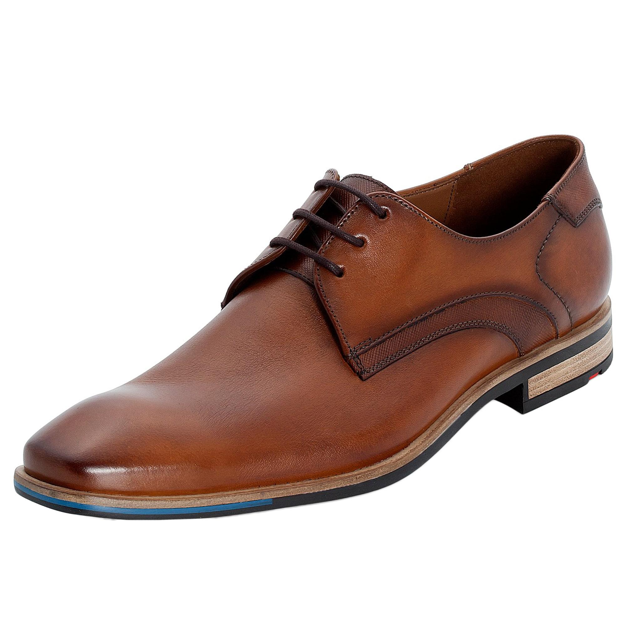 LLOYD Fűzős cipő 'Lapaz'  karamell