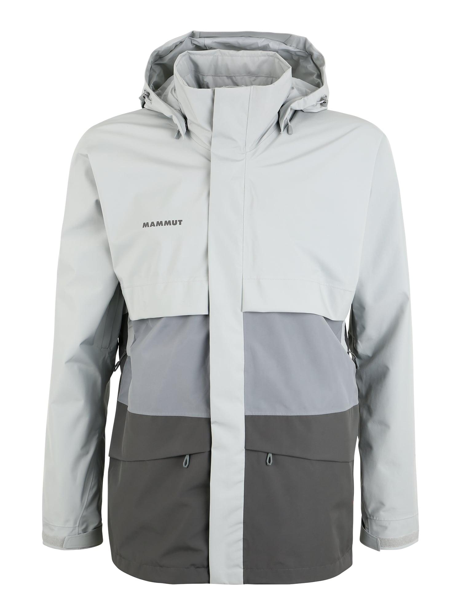 MAMMUT Sportinė striukė pilka / šviesiai pilka