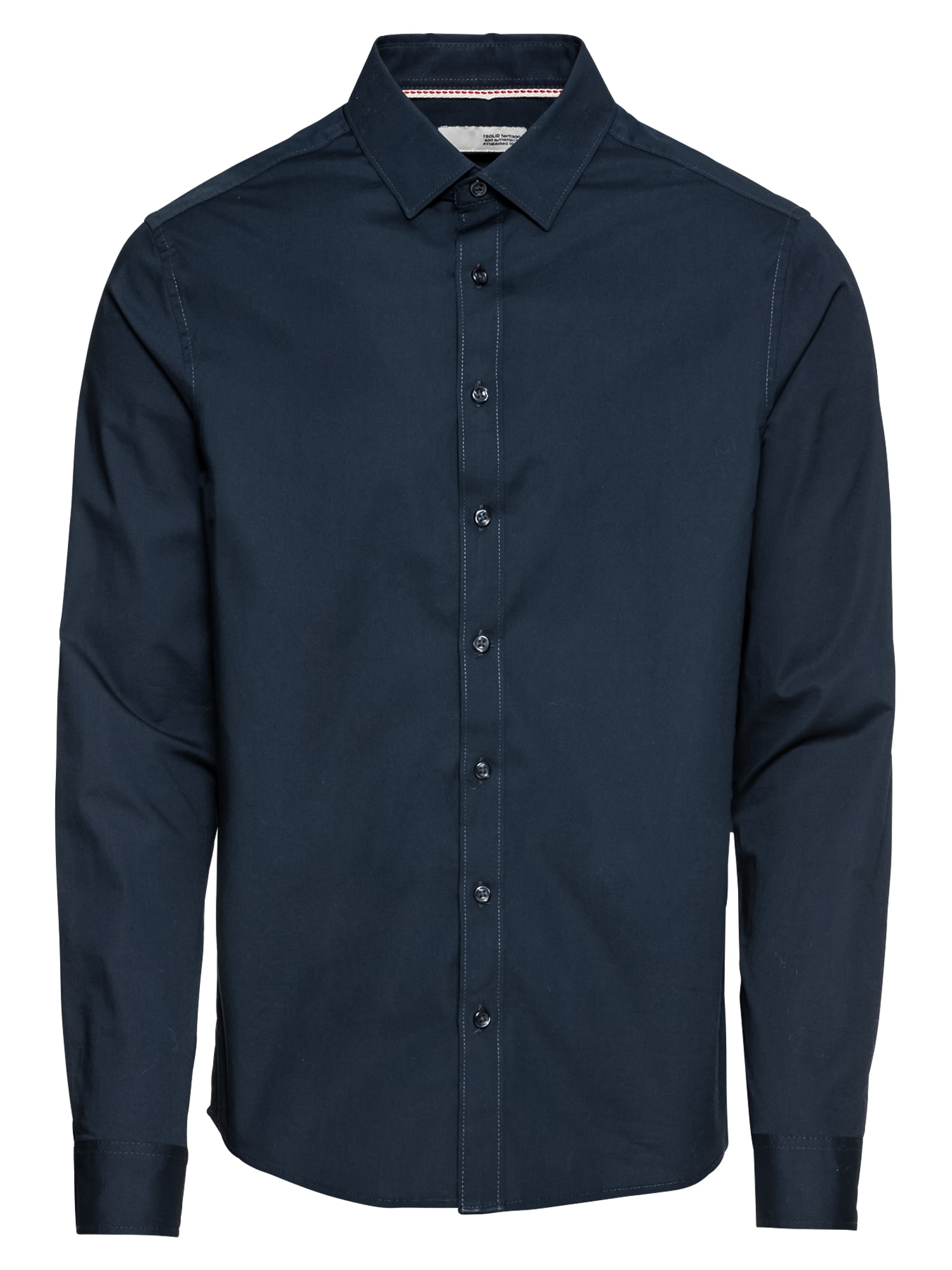 Košile Shirt - Tyler LS tmavě modrá !Solid