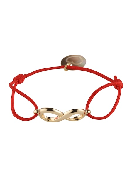 Armbaender für Frauen - Lua Accessories Armband 'Endless' gold rot  - Onlineshop ABOUT YOU