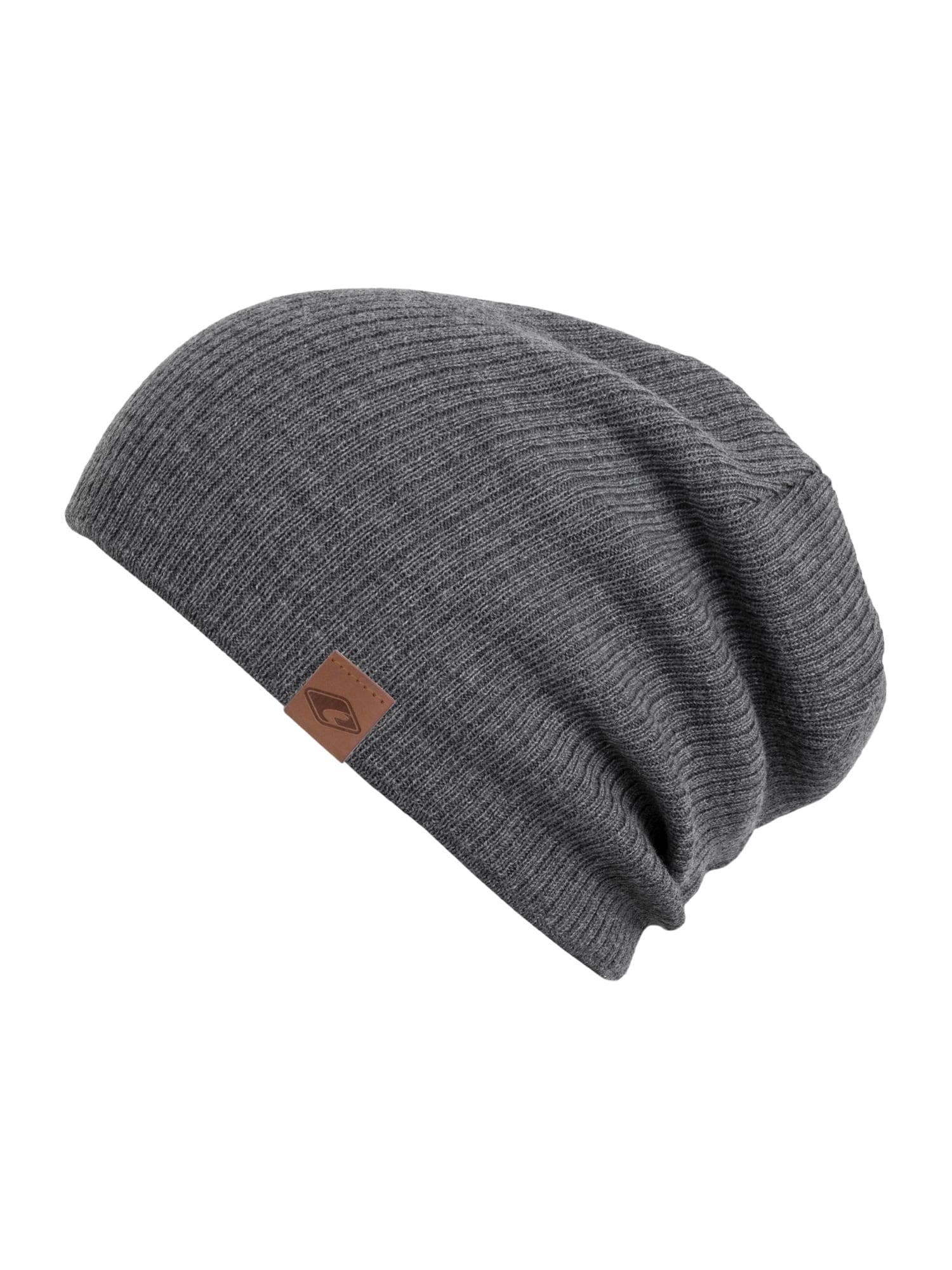 chillouts Megzta kepurė 'Dominik' tamsiai pilka