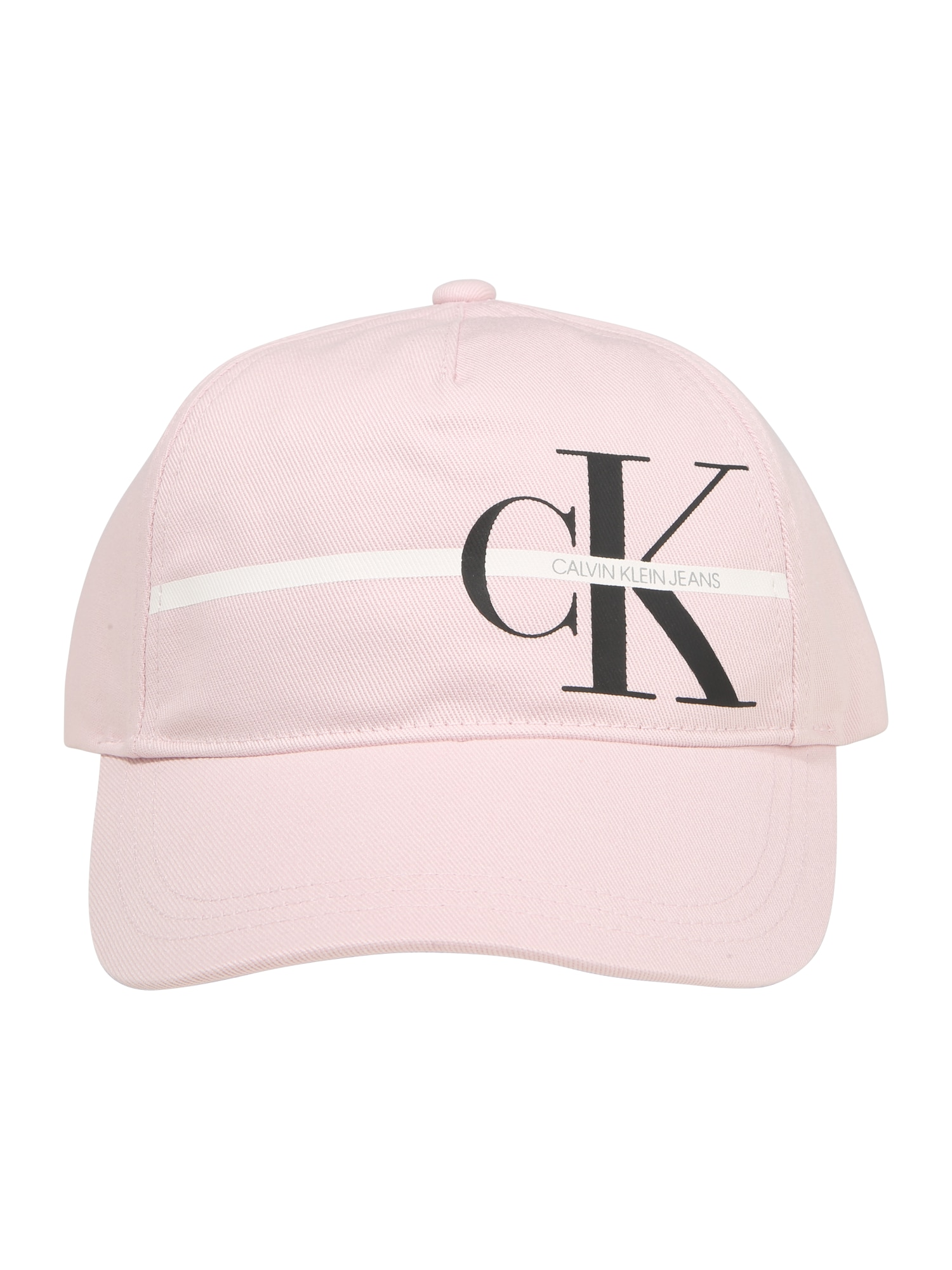Calvin Klein Jeans Skrybėlaitė rožių spalva / juoda