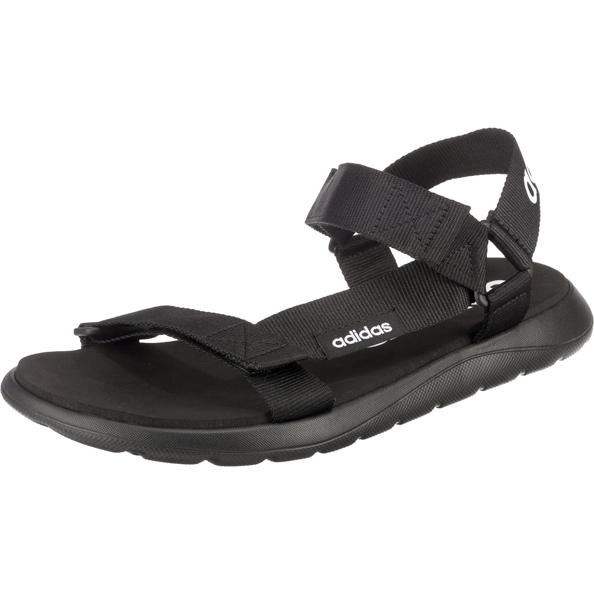 ADIDAS PERFORMANCE Sandalai juoda / balta
