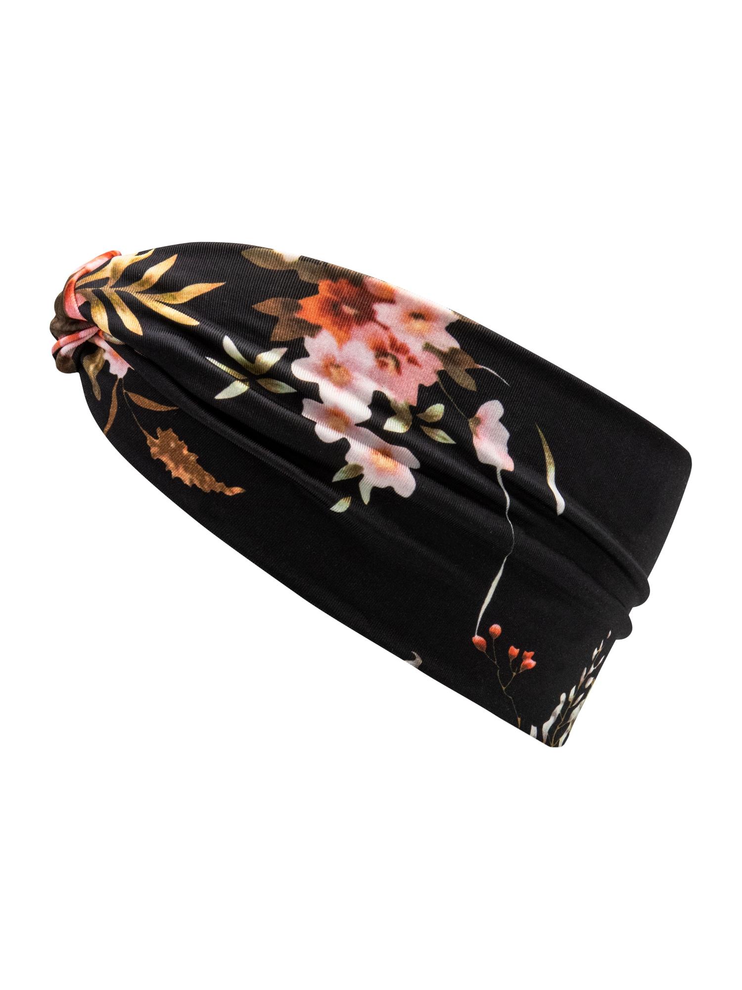 chillouts Galvos juosta 'Waikiki' juoda / ryškiai rožinė spalva