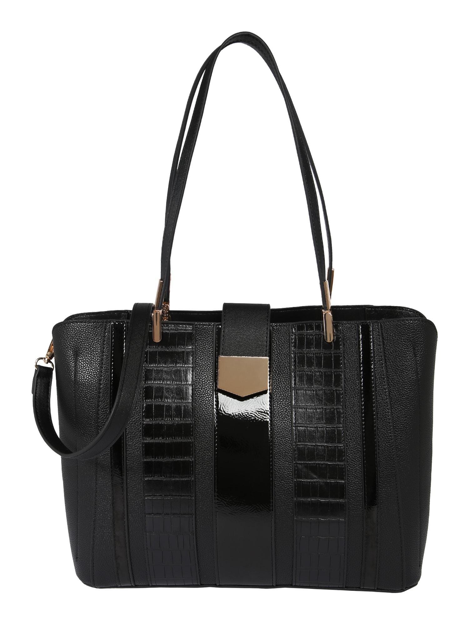 Dorothy Perkins Pirkinių krepšys juoda
