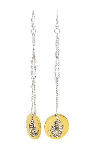 Ohrringe für Frauen - GUESS Ohrhänger 'UBE11306' gold silber  - Onlineshop ABOUT YOU