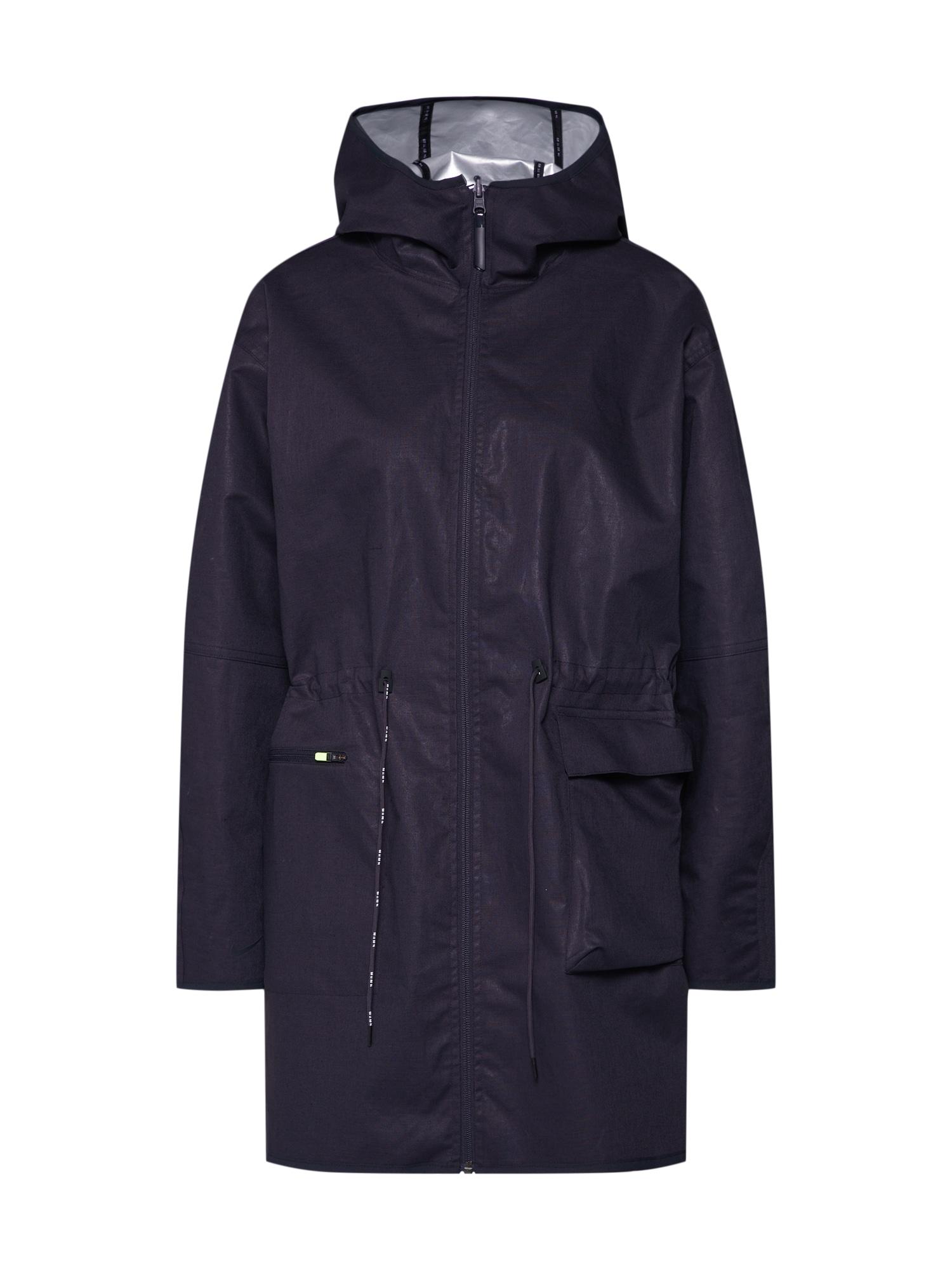 Přechodný kabát TCH PCK černá stříbrná Nike Sportswear