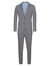 Esprit,Esprit Collection Herren Anzug R+F melange b grau | 04060469604313