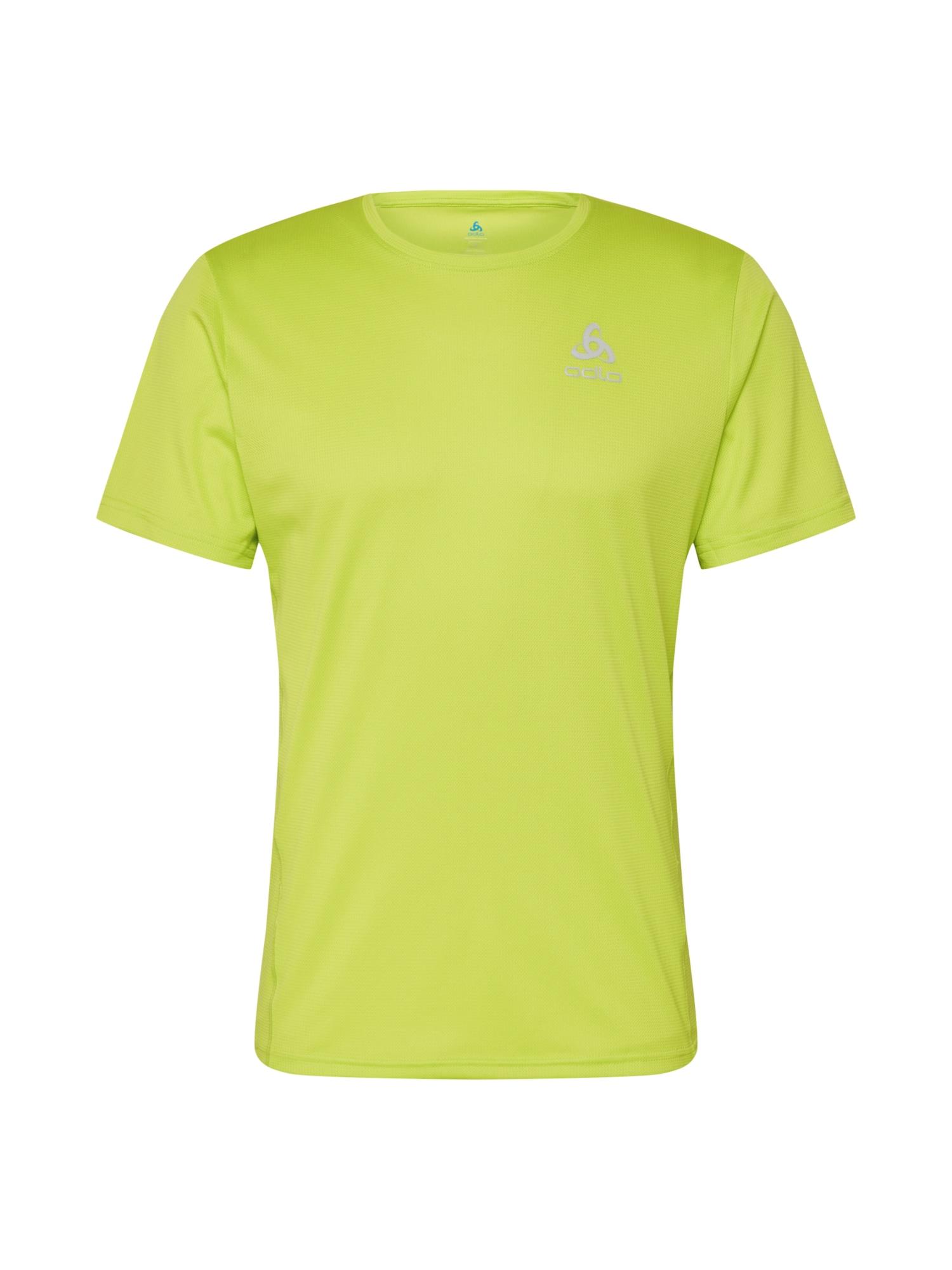 ODLO Funkčné tričko 'ELEMENT Light'  neónovozelená