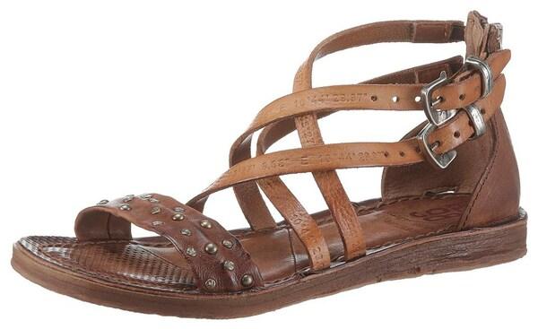 Sandalen für Frauen - A.S.98 Riemchensandalen karamell  - Onlineshop ABOUT YOU